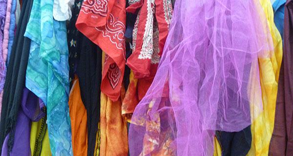 Tücher zur Verkleidung